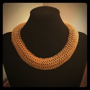 """Jewelry - Gold tone 16"""" statement necklace"""